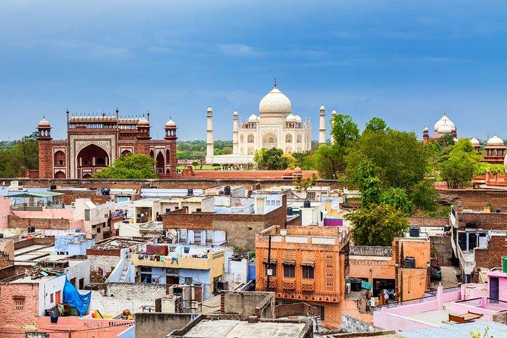 Agra's Old City